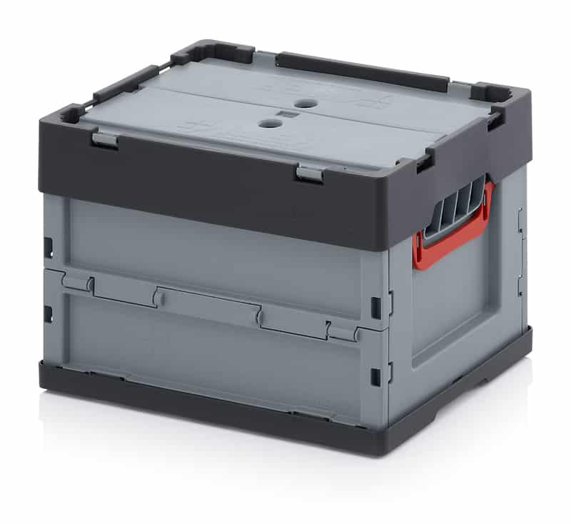 Faltbox mit Deckel 40 x 30 x 27 cm AUER packaging