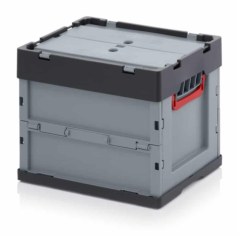 Faltbox mit Deckel 40 x 30 x 32 cm AUER packaging