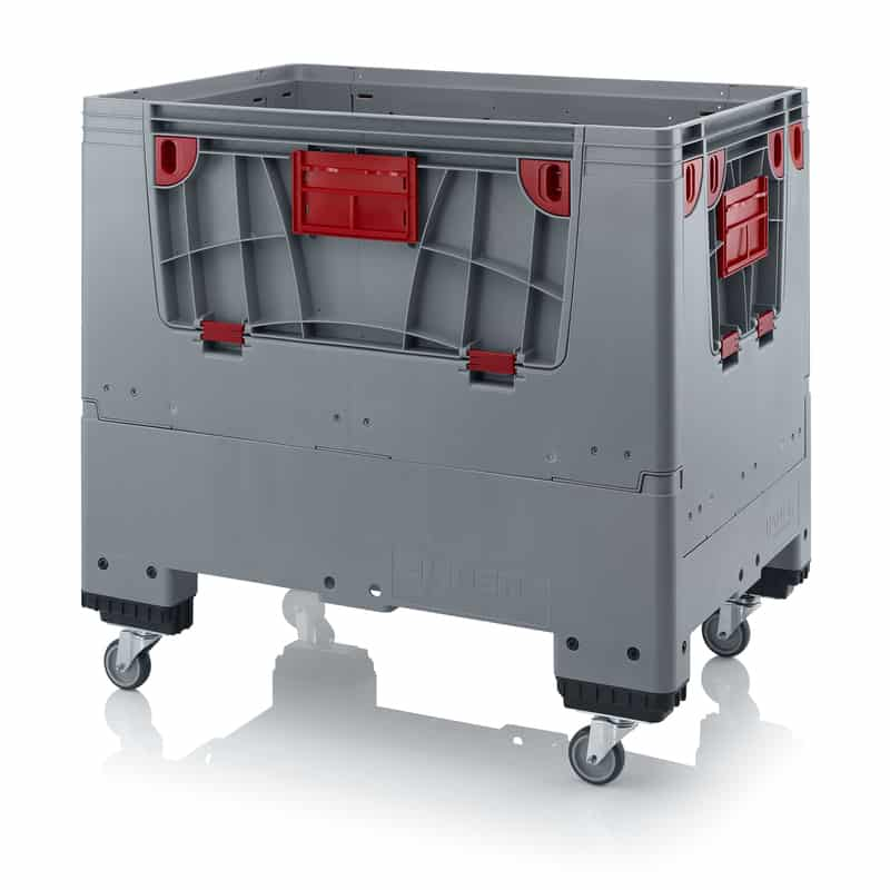 Klappbare Big Box mit 4 Eingriffsklappen 120 x 80 x 114 cm AUER packaging