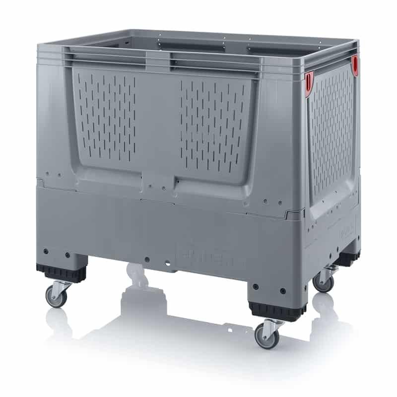 Klappbare Big Box mit Lüftungsschlitzen 120 x 80 x 114 cm AUER packaging