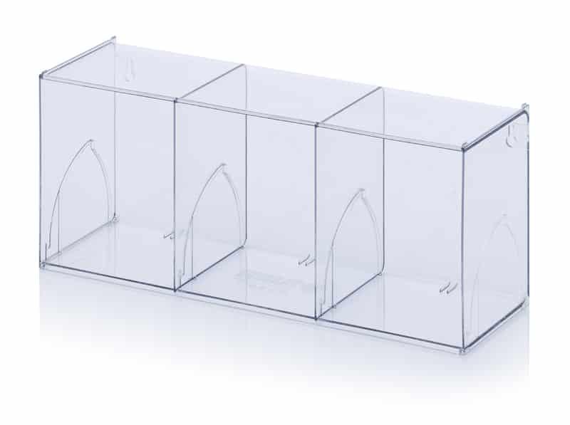 Kippkastenmodule glasklar 60 x 19,7 x 24 cm AUER packaging