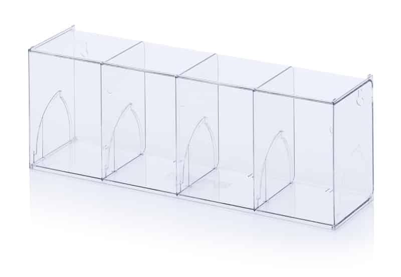 Kippkastenmodule glasklar 60 x 16,8 x 20,7 cm AUER packaging