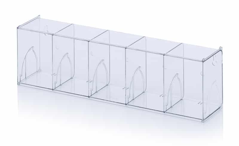 Kippkastenmodule glasklar 60 x 13,3 x 16,4 cm AUER packaging