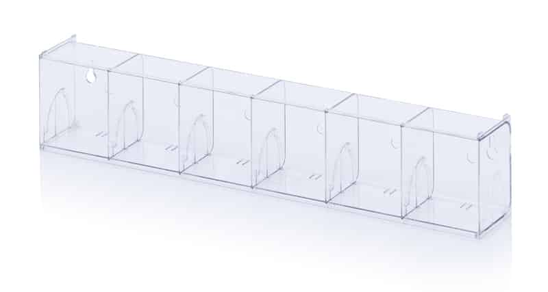 Kippkastenmodule glasklar 60 x 9,1 x 11,3 cm AUER packaging