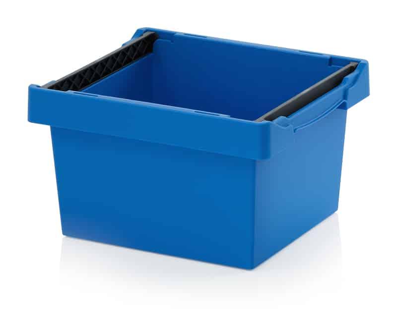 Mehrwegbehälter mit Stapelbügel 40 x 30 x 22 cm AUER packaging