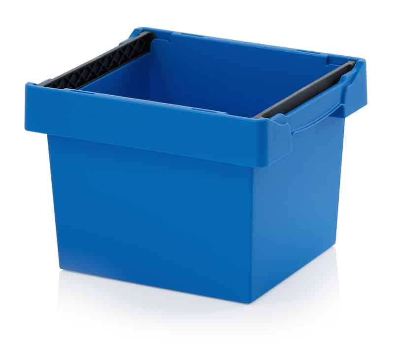 Mehrwegbehälter mit Stapelbügel 40 x 30 x 27 cm AUER packaging