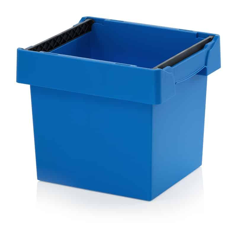 Mehrwegbehälter mit Stapelbügel 40 x 30 x 32 cm AUER packaging