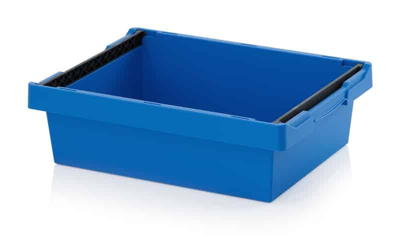 Mehrwegbehälter mit Stapelbügel 60 x 40 x 17 cm AUER packaging
