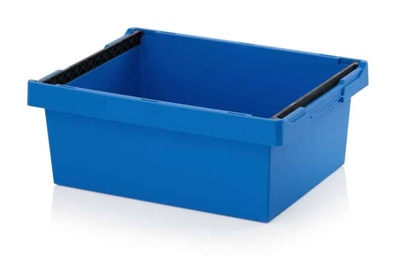 Mehrwegbehälter mit Stapelbügel 60 x 40 x 22 cm AUER packaging