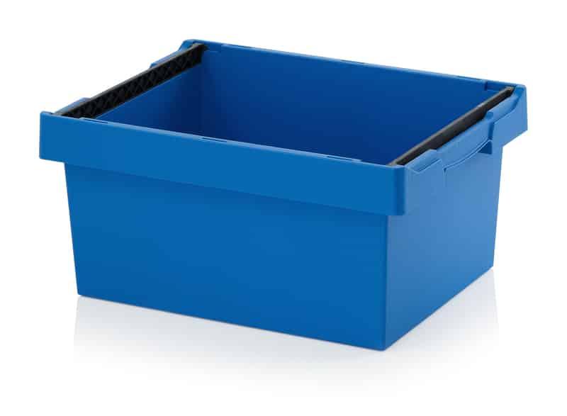 Mehrwegbehälter mit Stapelbügel 60 x 40 x 27 cm AUER packaging