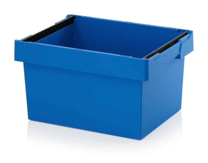 Mehrwegbehälter mit Stapelbügel 60 x 40 x 32 cm AUER packaging