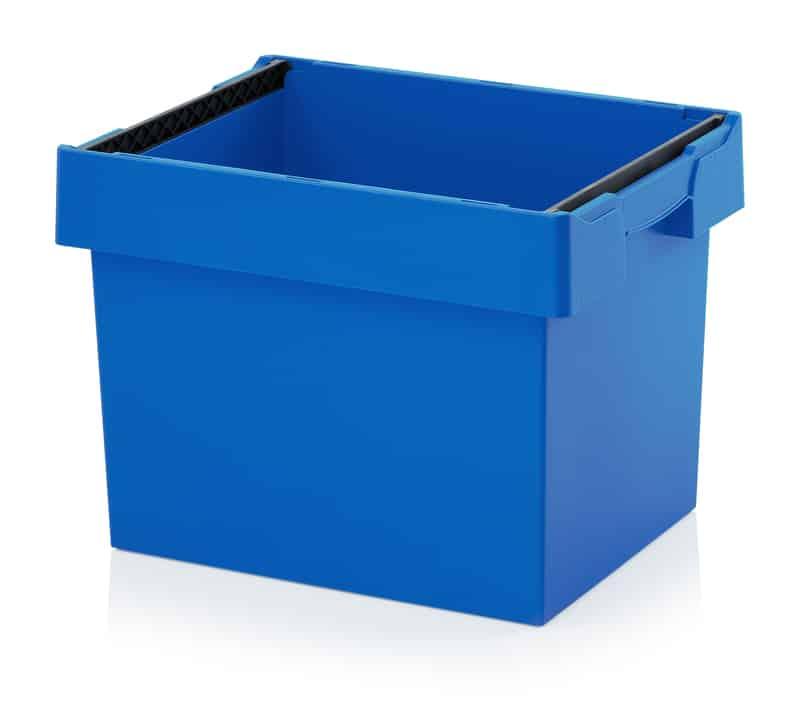 Mehrwegbehälter mit Stapelbügel 60 x 40 x 42 cm AUER packaging
