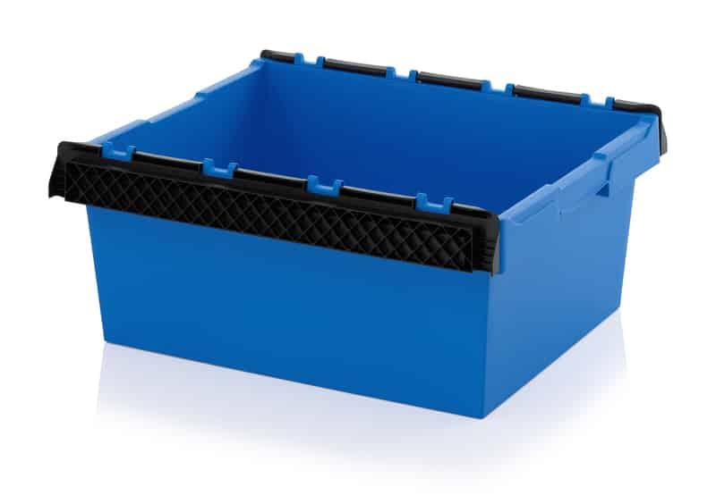 Mehrwegbehälter mit Stapelbügel 80 x 60 x 32 cm AUER packaging