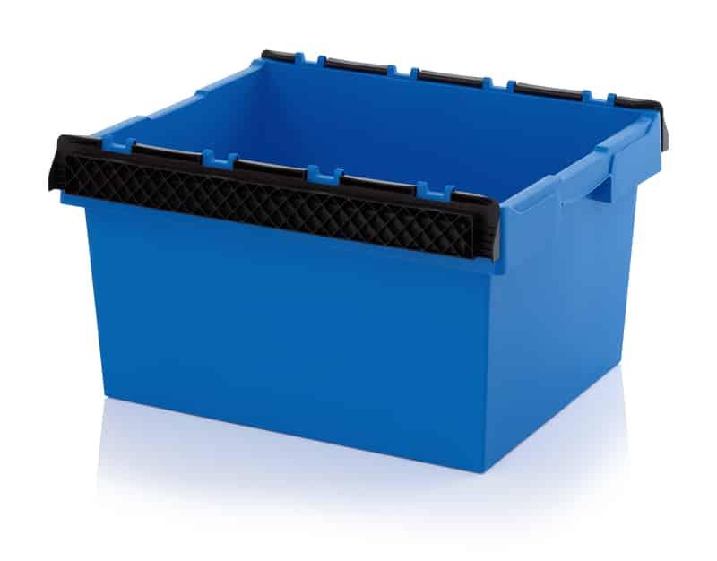 Mehrwegbehälter mit Stapelbügel 80 x 60 x 42 cm AUER packaging
