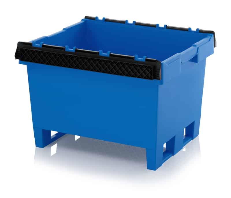 Mehrwegbehälter mit Stapelbügel 80 x 60 x 52 cm AUER packaging