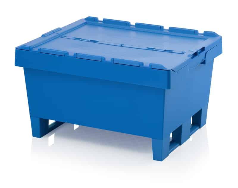 Mehrwegbehälter mit Deckel 80 x 60 x 44 cm AUER packaging