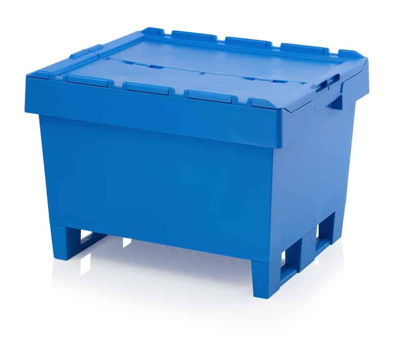 Mehrwegbehälter mit Deckel 80 x 60 x 54 cm AUER packaging