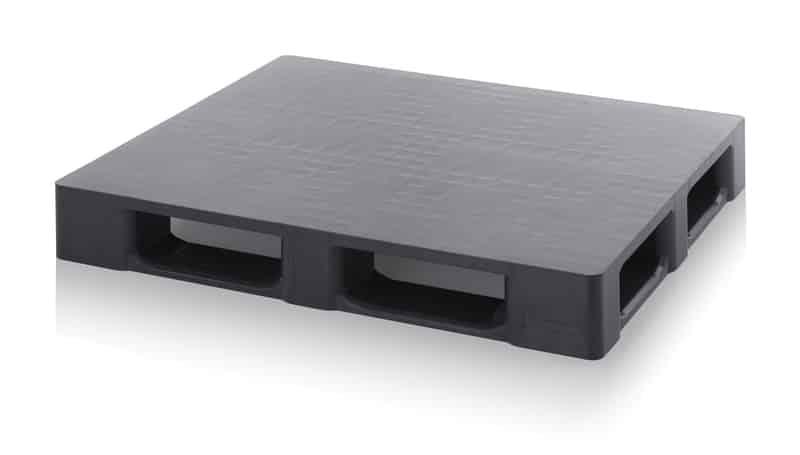Reinraumpalette aus Regenerat ohne Sicherungsrand 120 x 100 x 15,2 cm AUER packaging