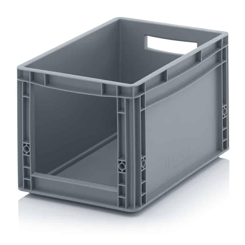 Sichtlagerkasten im Euroformat SLK 40 x 30 x 27 cm AUER packaging