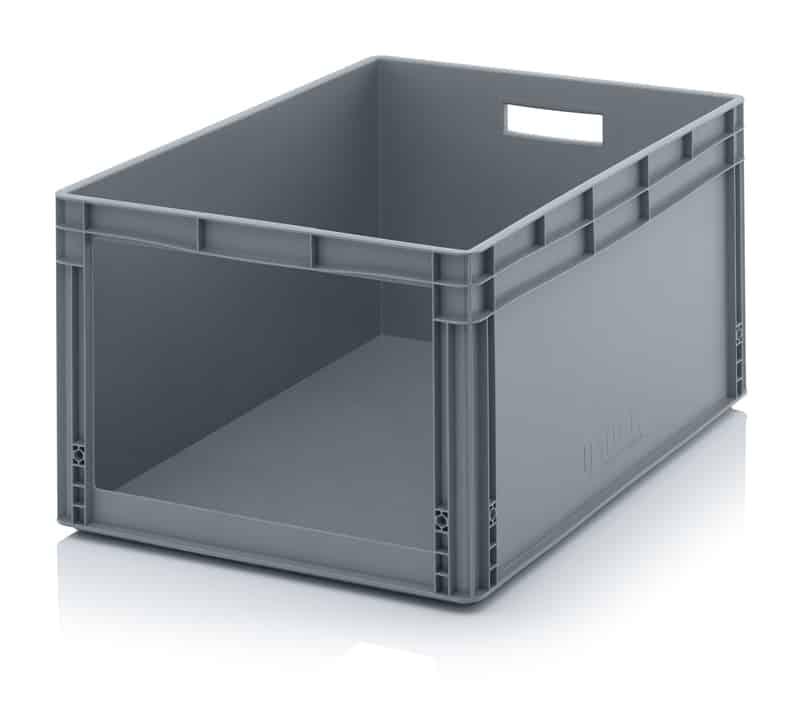 Sichtlagerkasten im Euroformat SLK 80 x 60 x 42 cm AUER packaging