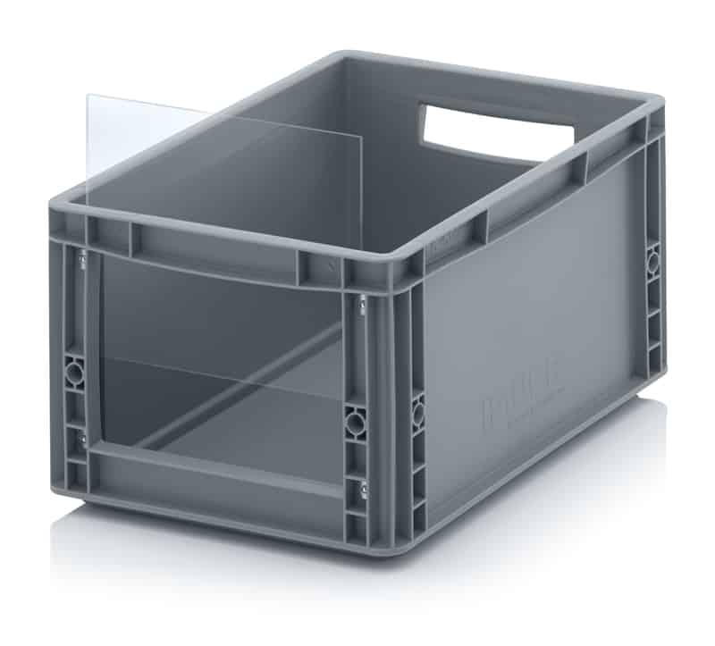 Sichtlagerkasten im Euroformat SLK ES 40 x 30 x 22 cm AUER packaging