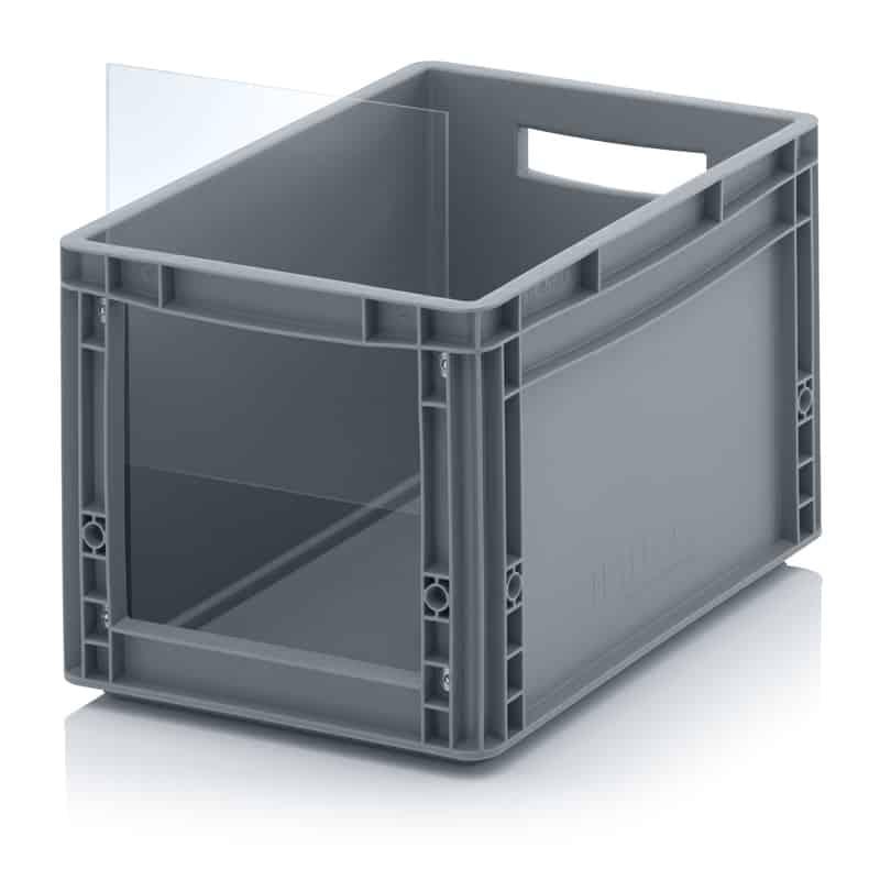 Sichtlagerkasten im Euroformat SLK ES 40 x 30 x 27 cm AUER packaging