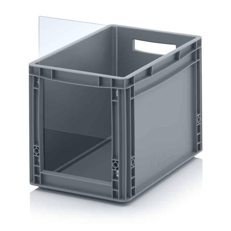 Sichtlagerkasten im Euroformat SLK ES 40 x 30 x 32 cm AUER packaging