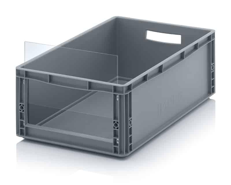 Sichtlagerkasten im Euroformat SLK ES 60 x 40 x 22 cm AUER packaging
