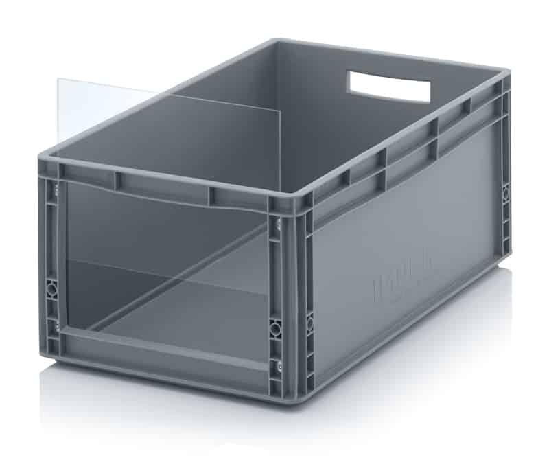 Sichtlagerkasten im Euroformat SLK ES 60 x 40 x 27 cm AUER packaging