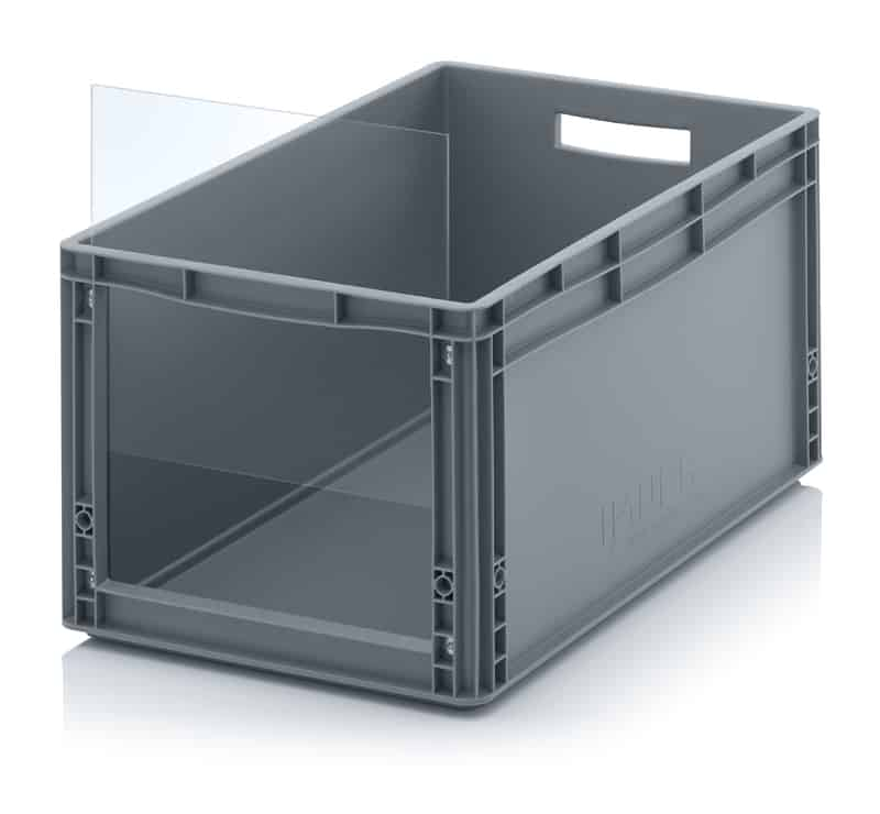 Sichtlagerkasten im Euroformat SLK ES 60 x 40 x 32 cm AUER packaging