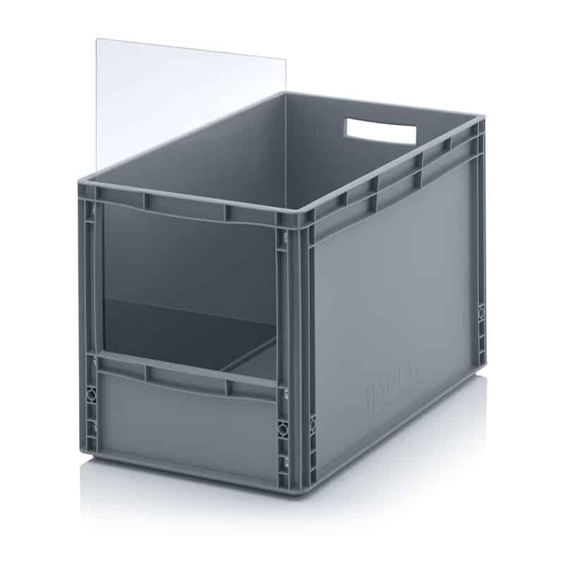 Sichtlagerkasten im Euroformat SLK ES 60 x 40 x 42 cm AUER packaging