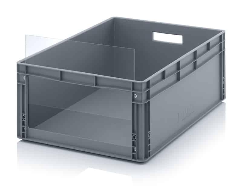 Sichtlagerkasten im Euroformat SLK ES 80 x 60 x 32 cm AUER packaging