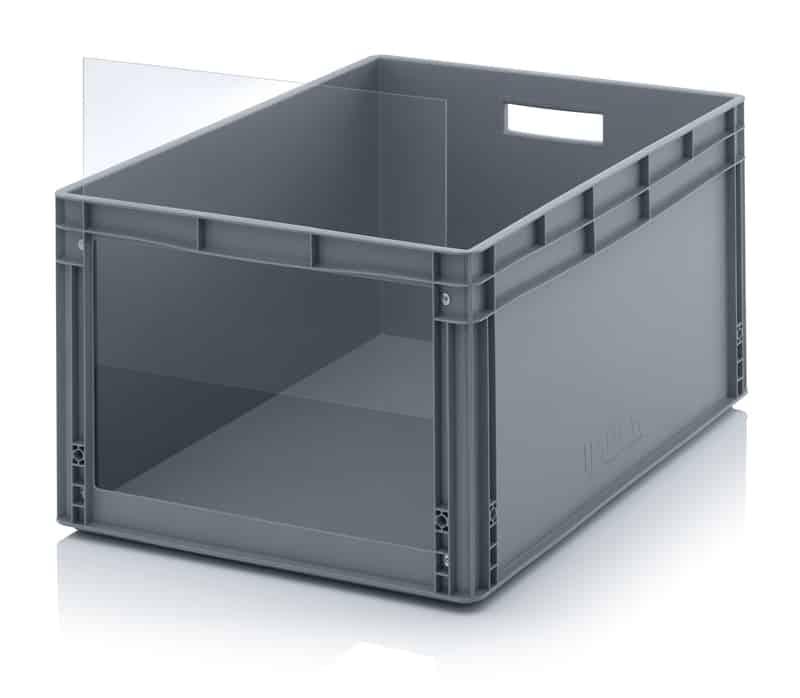 Sichtlagerkasten im Euroformat SLK ES 80 x 60 x 42 cm AUER packaging