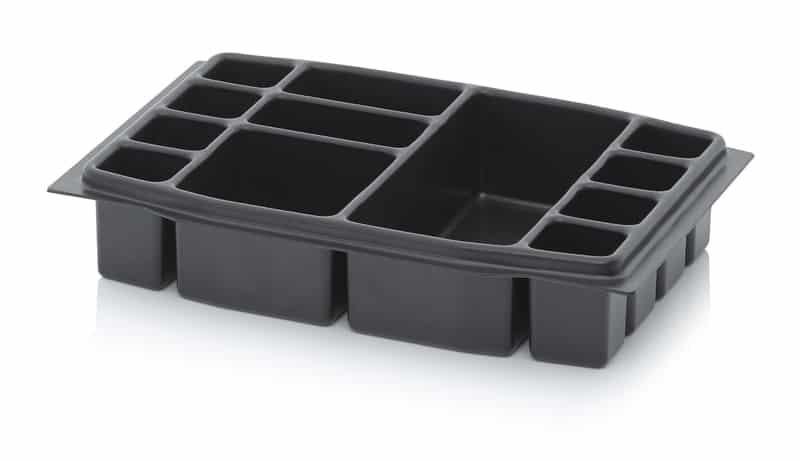 Tiefzieheinsatz 12-fach 39,5 x 27,4 x 7,4 cm AUER packaging