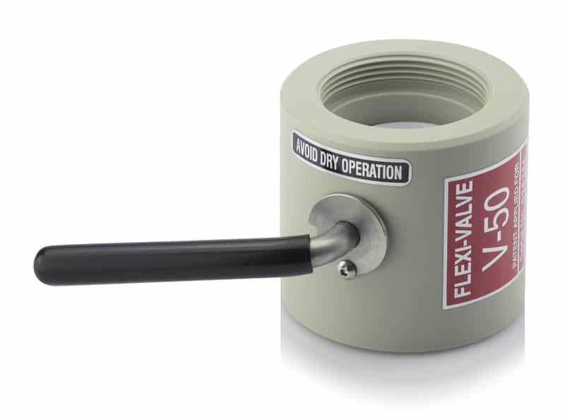 Adapter mit Dichtung Scheibenklappenventil AUER packaging